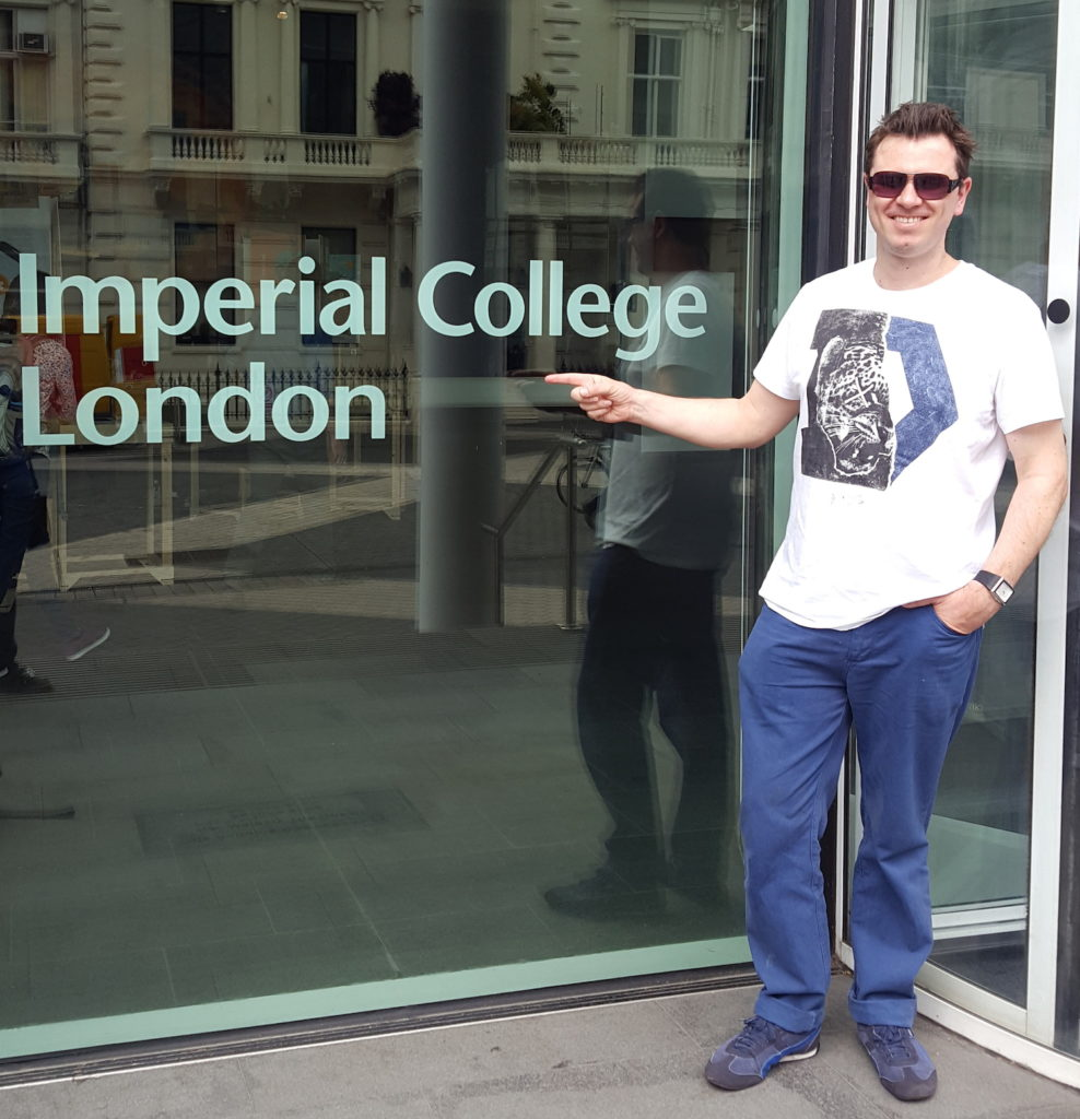 Paul Urwin Imperial College London