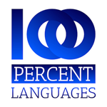 100 Percent Languages Sticky Logo